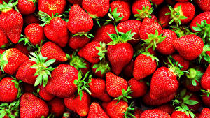 Pictures Texture Berry Strawberry Closeup Food