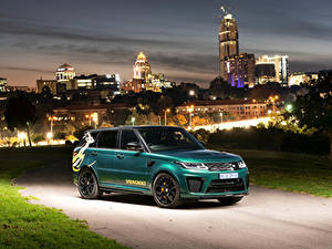 Wallpapers Land Rover Tuning Green 2019 Sport SVR Springboks by SVO automobile