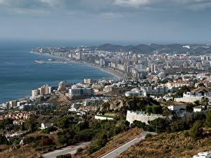 Hintergrundbilder Haus Spanien Küste Andalusia, Fuengirola