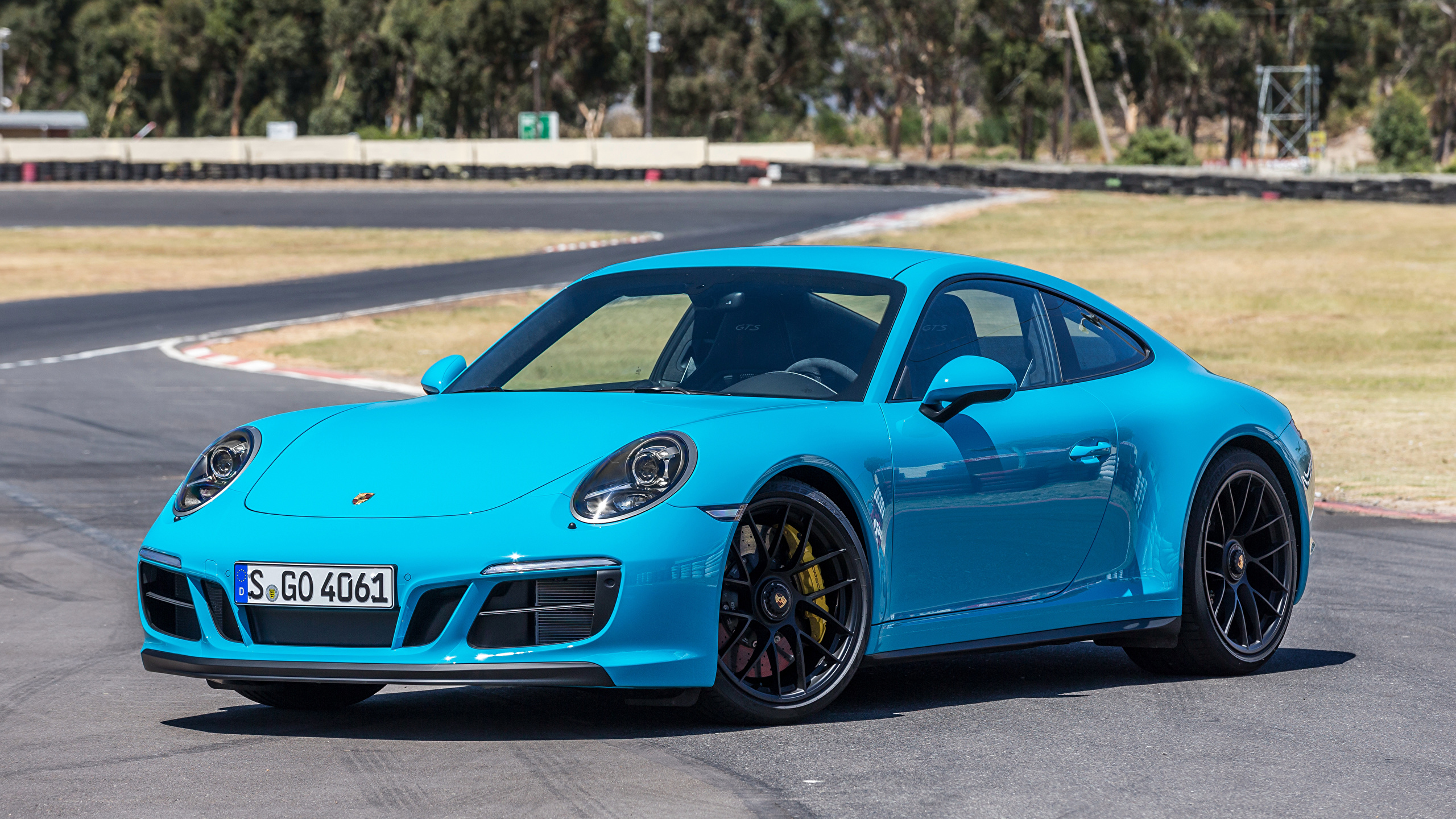 Fondos De Pantalla 2560x1440 Porsche 2017 911 Carrera Gts