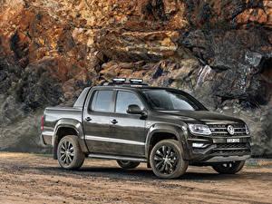 Bilder Volkswagen Metallisch Pick-up 2020 Amarok V6 580S