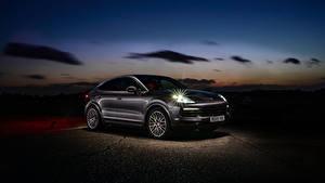Bilder Porsche Hybrid Autos Coupe Metallisch 2019-20 Cayenne E-Hybrid Coupe