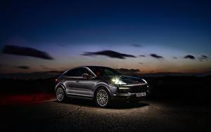 Bilder Porsche Hybrid Autos Coupe Metallisch 2019-20 Cayenne E-Hybrid Coupe Autos