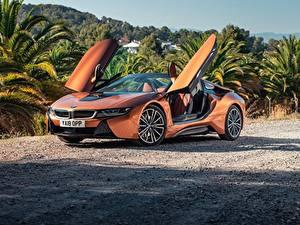 Pictures BMW Orange Roadster 2018 i8