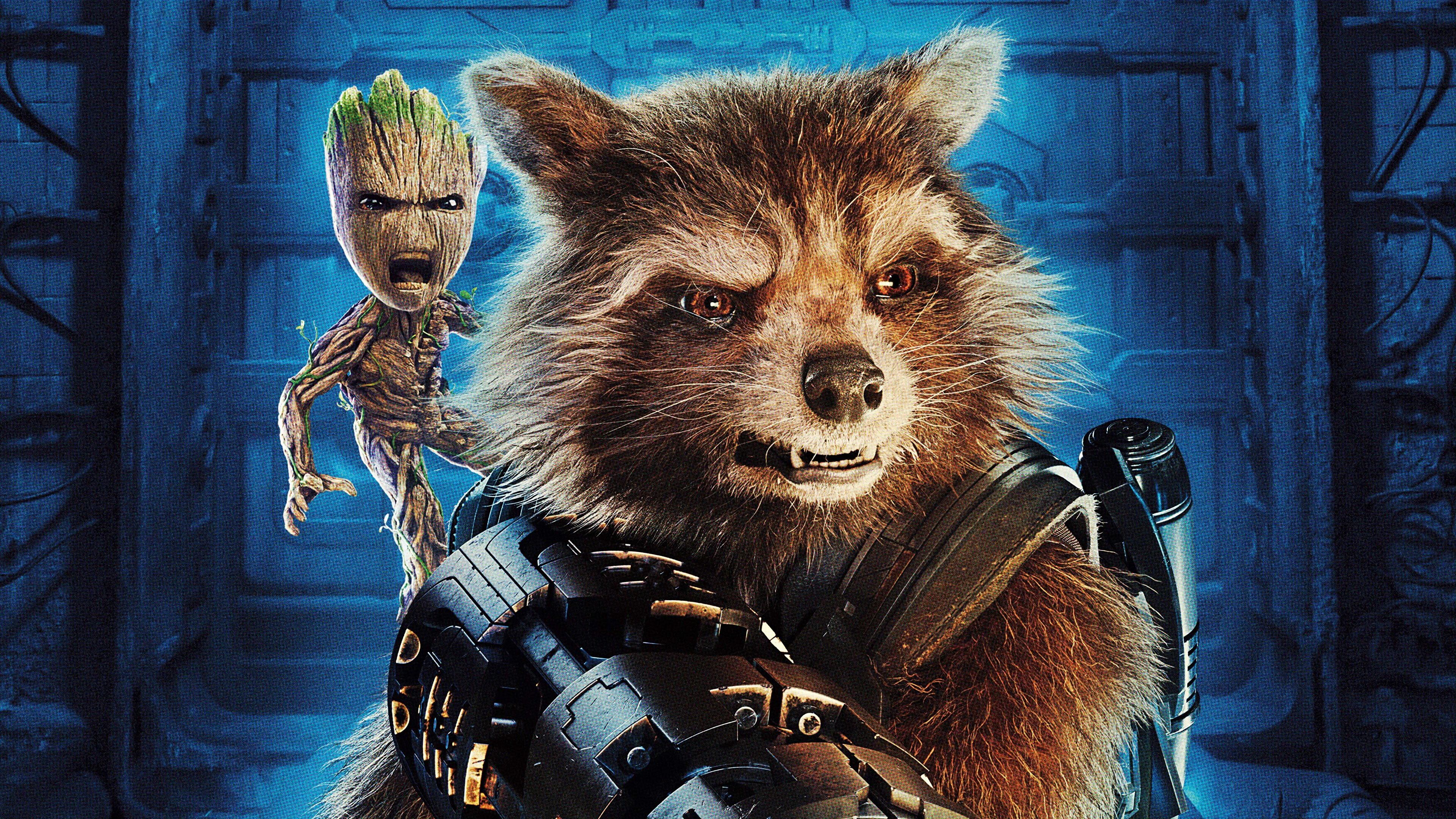 Desktop Wallpapers Guardians Of The Galaxy Vol 2 Raccoons 3840x2160