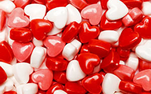 Hintergrundbilder Valentinstag Süßigkeiten Dauerlutscher Herz Lebensmittel