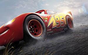 Fonds d'écran Cars 3 Rouge Lightning McQueen