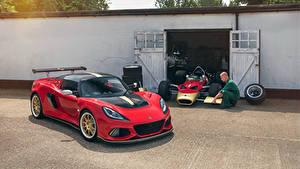 Bilder Lotus Rot Garage 2018-19 Exige Cup 430 Type 49 Autos