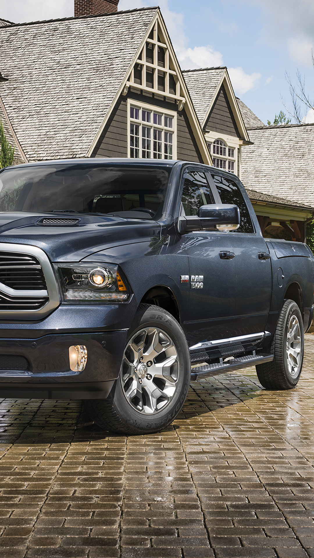Desktop Wallpapers Dodge 2018 Ram 1500 Limited Tungsten 1080x1920