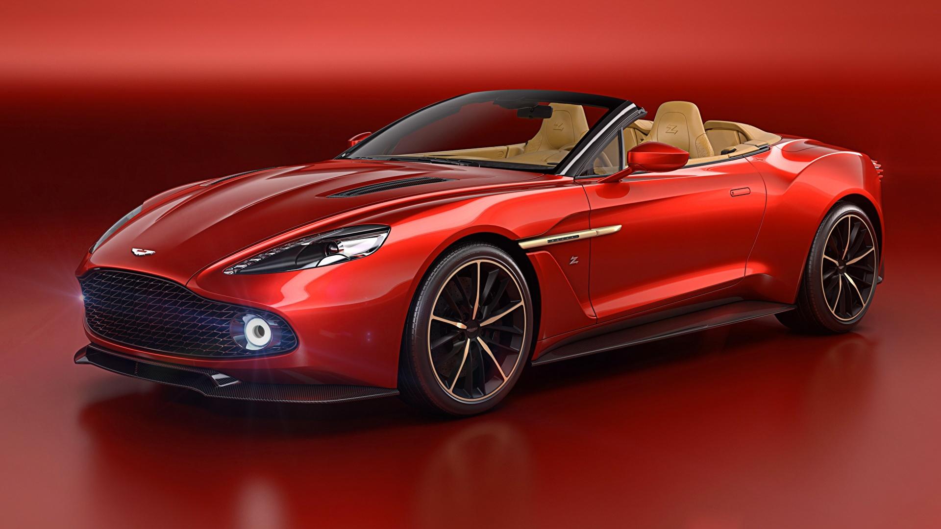 Fondos De Pantalla 1920x1080 Aston Martin Vanquish Rojo