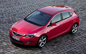 Bilder Opel Rot Metallisch 2009-12 Astra