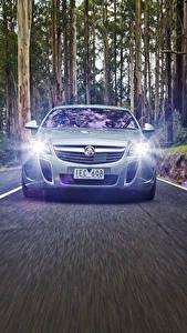 Wallpapers Opel Front Motion Asphalt Insignia Holden VXR 2015