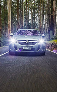 Wallpapers Opel Front Motion Asphalt Insignia Holden VXR 2015