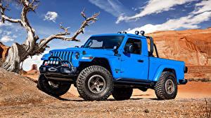 Fotos Jeep Hellblau Pick-up 2019 J6