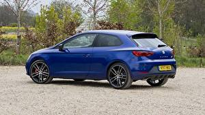 Images Seat Blue Metallic Coupe Side Leon, SC, Cupra, 300, UK-spec