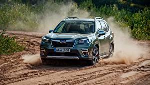 Hintergrundbilder Subaru Fahren Forester, 2019