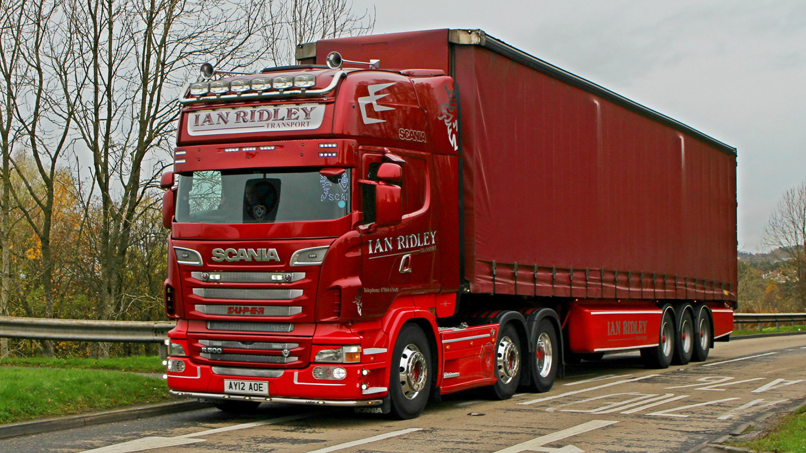 Fondos De Pantalla 2560x1440 Scania Camion R500 V8 6 X 2