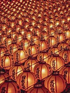 Fotos Viel Textur Laterne Chinesisches