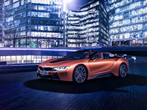 Fotos BMW Roadster Orange 2018 i8 Roadster