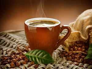 Hintergrundbilder Getränke Kaffee Tasse Getreide Blatt Dampf