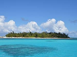 Photo Island Ocean Tropics Saipan, Mariana islands, Pacific ocean Nature