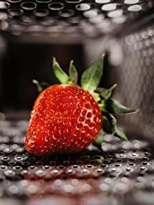 Bilder Erdbeeren Unscharfer Hintergrund