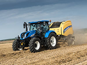 Fotos Acker Traktoren 2015-19 New Holland T6.175