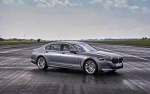 Tapety na pulpit BMW Sedan Szara Metaliczna 7 series, G11/G12 samochód