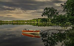 Hintergrundbilder Vereinigte Staaten Fluss Boot Ast Spiegelung Spiegelbild Minnesota