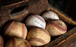 Fotos Hautnah Ball Alt Baseball sportliches