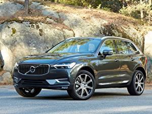 Bilder Volvo Schwarz Crossover Metallisch xc60 2018 auto