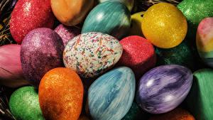 Hintergrundbilder Ostern Ei Mehrfarbige