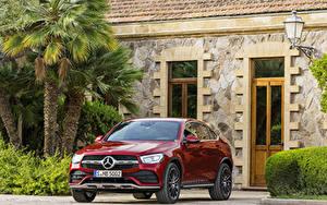 Hintergrundbilder Mercedes-Benz Rot  Autos