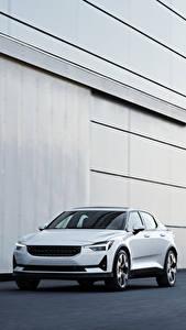 Hintergrundbilder Weiß Metallisch 2019 Polestar 1 Worldwide automobil