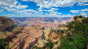 Hintergrundbilder Grand Canyon Park USA Parks Berg Himmel Wolke