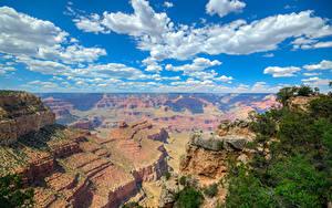 Hintergrundbilder Grand Canyon Park USA Park Gebirge Himmel Wolke Natur