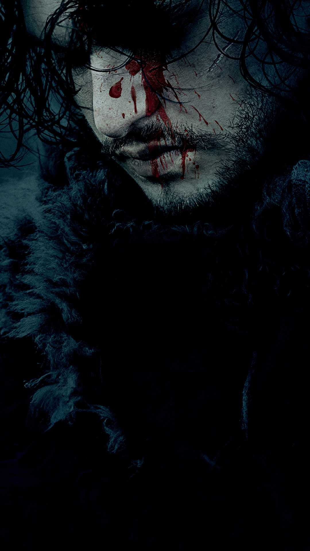 Images Game Of Thrones Kit Harington Men Blood Jon Snow 1080x1920