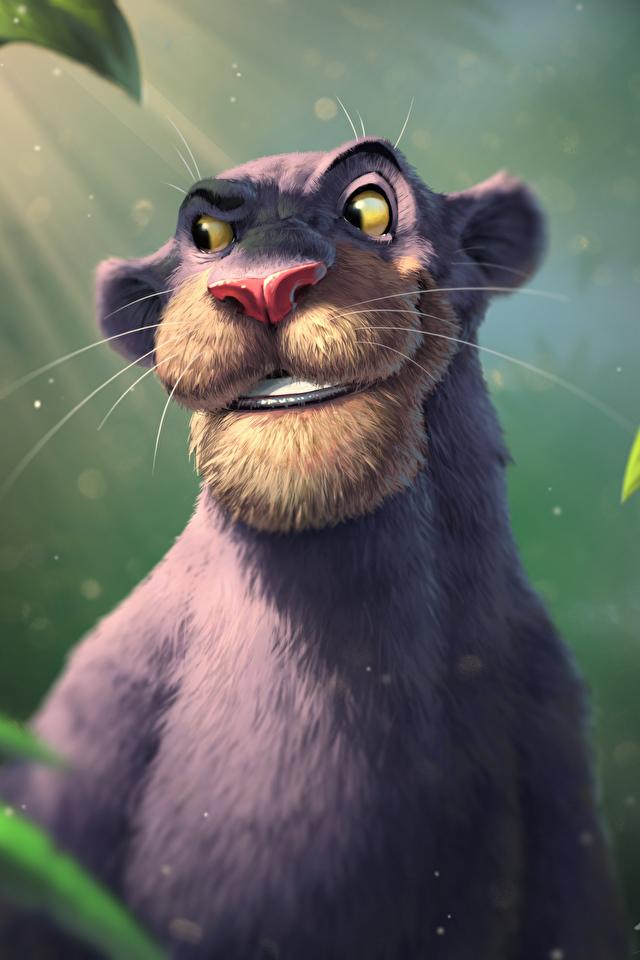 Bilder von Schwarzer Panther The Jungle Book, Bagheera Animationsfilm 640x960 Zeichentrickfilm