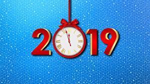Hintergrundbilder Uhr Neujahr 2019