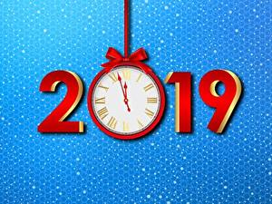 Wallpapers Clock New year 2019