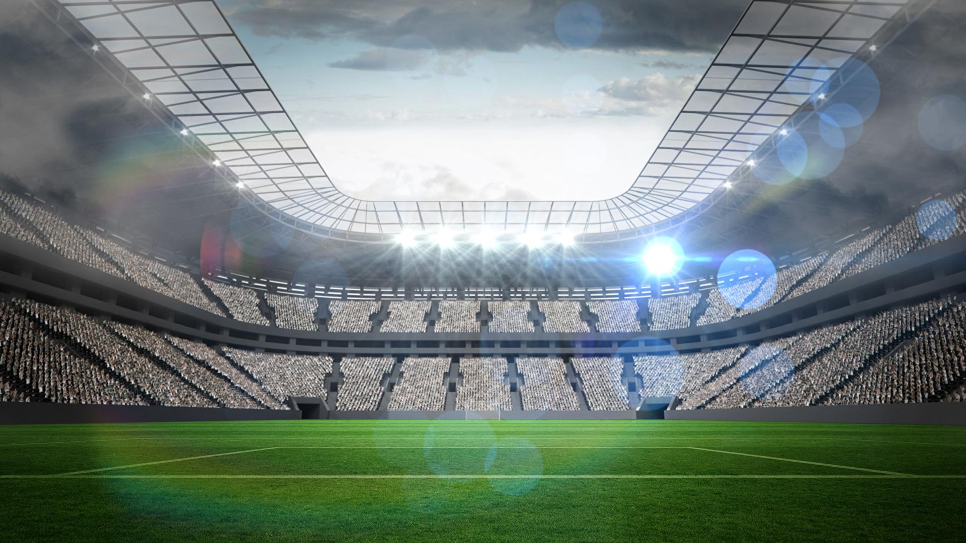 Foto Sport Fussball Stadion Rasen 1920x1080