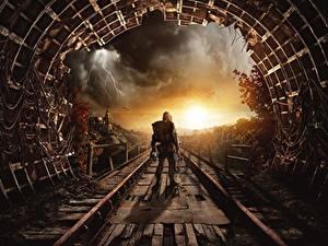 Hintergrundbilder Metro Exodus Tunnel Spiele