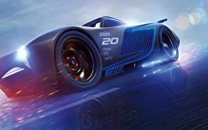 Fonds d'écran Cars 3 Bleu Jackson Storm