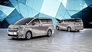 Bilder Toyota Ein Van 2 Graue 2018-19 Vellfire X Autos