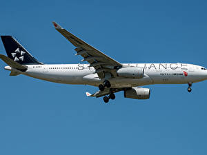 Fotos Airbus Flugzeuge Verkehrsflugzeug Seitlich Air China Airbus A330-200