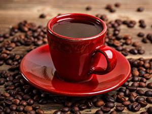 Fotos Kaffee Tasse Getreide