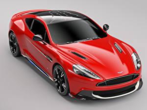 Hintergrundbilder Aston Martin Grauer Hintergrund Rot Metallisch 2017 Q Vanquish S Red Arrows Edition Autos