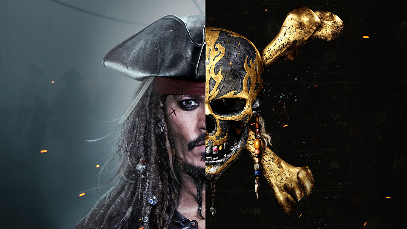 Photo Pirates Of The Caribbean Dead Men Tell No Tales 1366x768