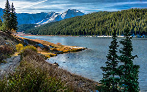 Fotos USA Gebirge Wälder Flusse Küste Landschaftsfotografie Copper Mountain Colorado
