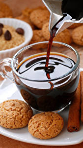 Images Coffee Cookies Cinnamon Cup